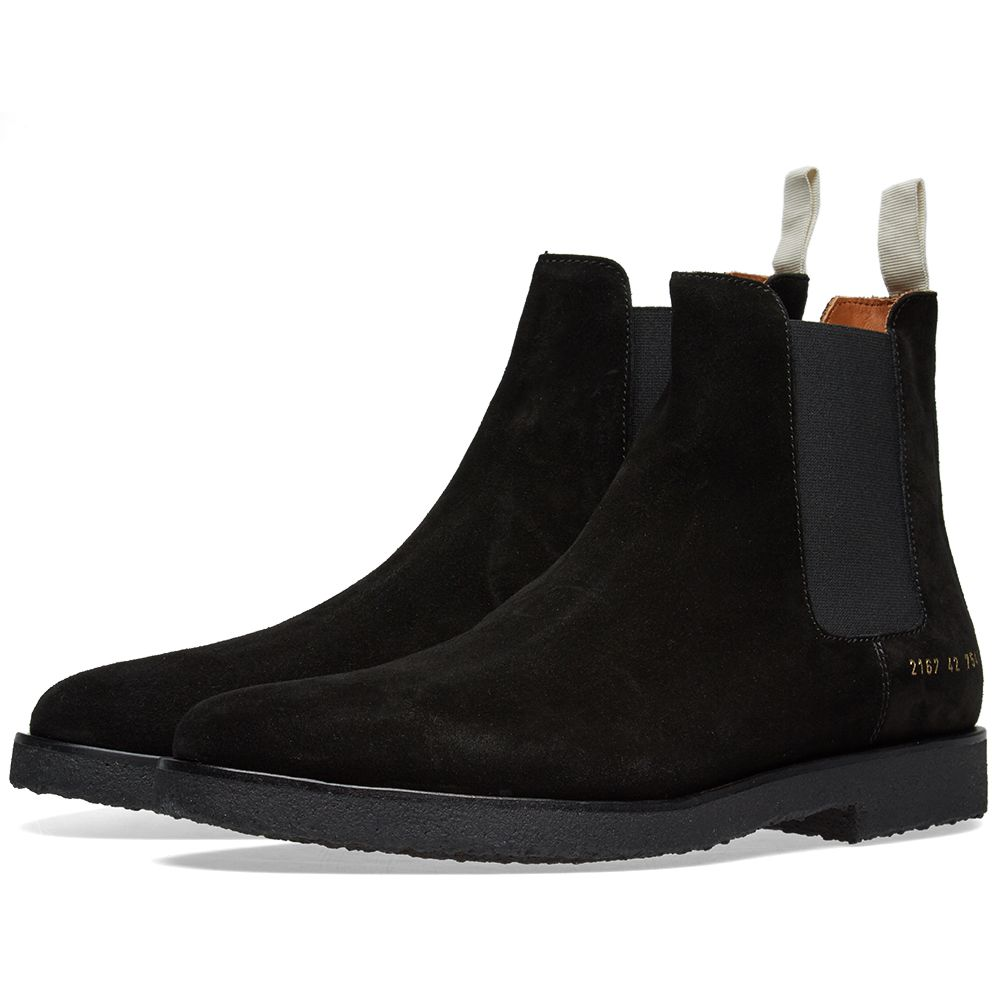 f5236369471ed Common Projects Chelsea Boot Black