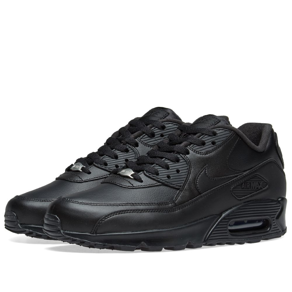 Nike Air Max 90 Leather Black  af2e731d636f
