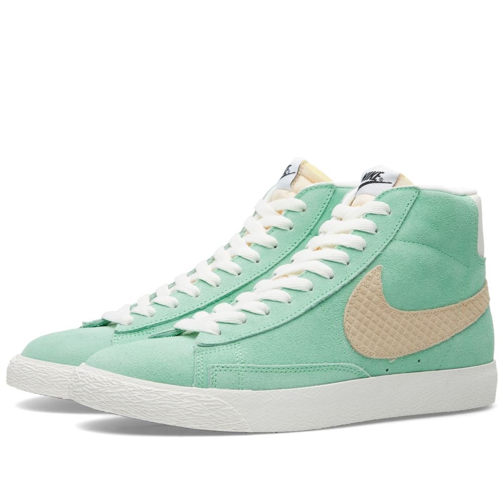 cheaper 09520 4991f Nike Blazer Mid Premium Vintage QS. Light Poison Green   Sand Dune. £69  £35. image