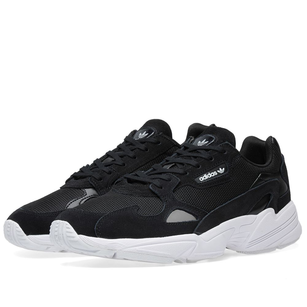 promo code 62d98 c70be Adidas Falcon W Core Black  White  END.