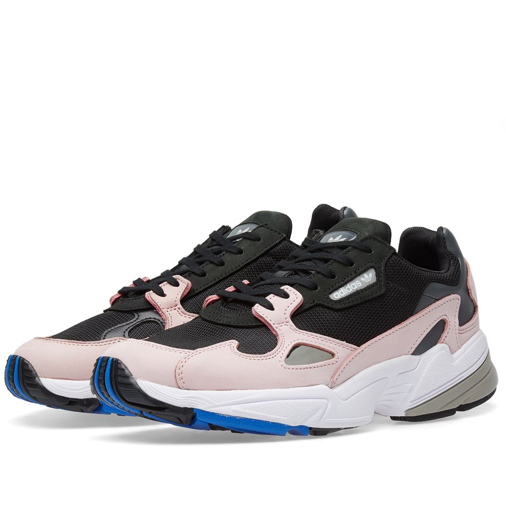 2b873b63f42 Adidas Falcon W Core Black   Light Pink