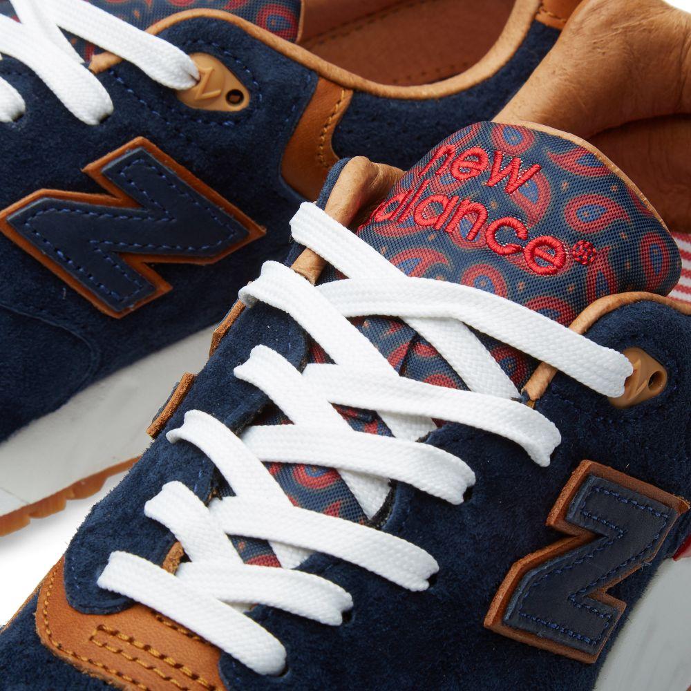 size 40 cd42b 67d6c New Balance x Sneaker Politics ML999SP Case 999 Navy  Tan  E