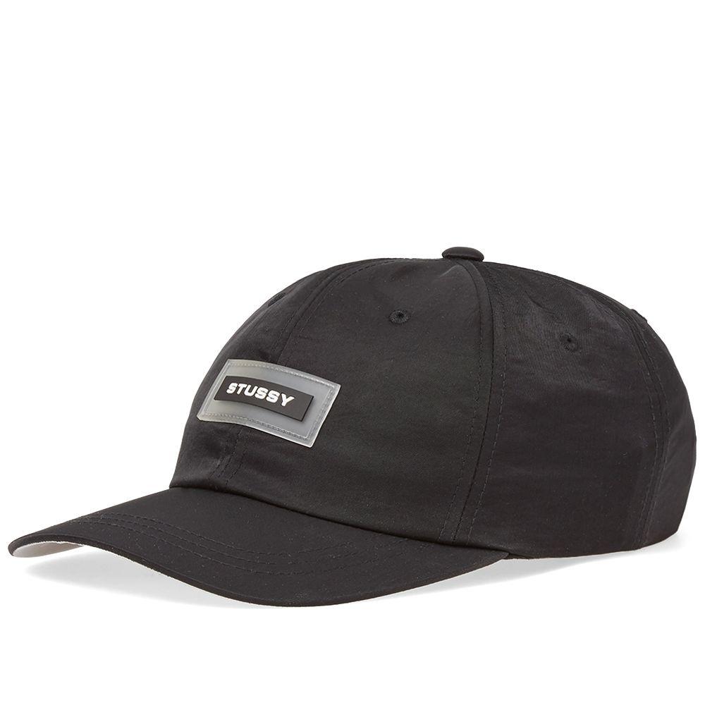 7aa52d869ee Stussy Nylon Low Pro Cap Black