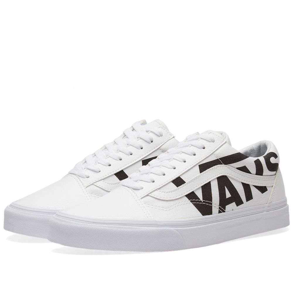 Vans Old Skool True White   Black  30c1881f5