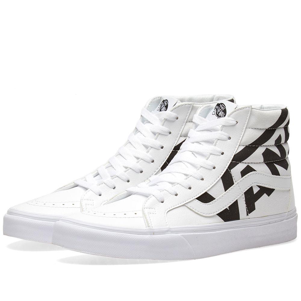 0e81cc0b144b Vans SK8-Hi Reissue True White   Black