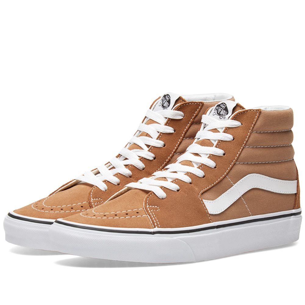 831b8c93efe1 Vans SK8-Hi Tigers Eye   True White