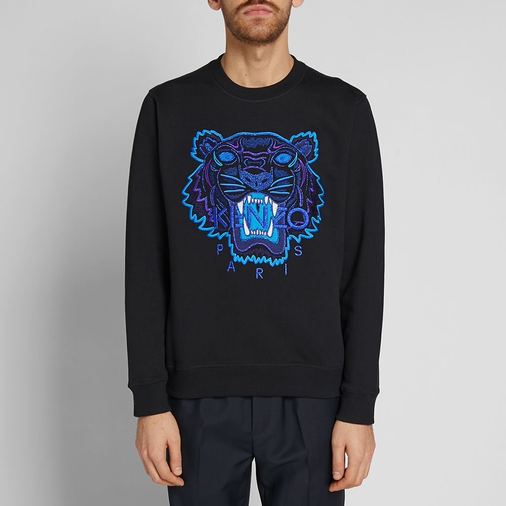 16658eab Kenzo Tiger Sweat Black | END.