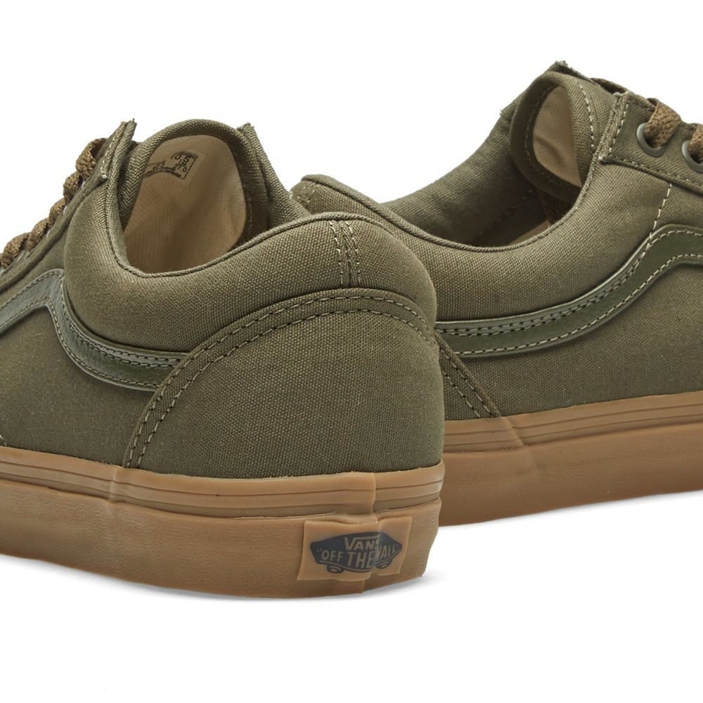 8dcf25b134 Vans Old Skool Ivy Green   Light Gum