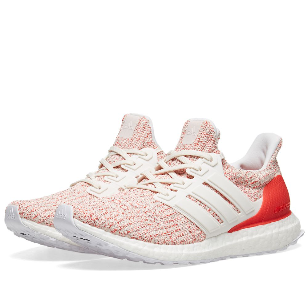 36ef52248c0 ... discount adidas ultra boost w. white chalk active red. 149. image 0fee7  a2ae3