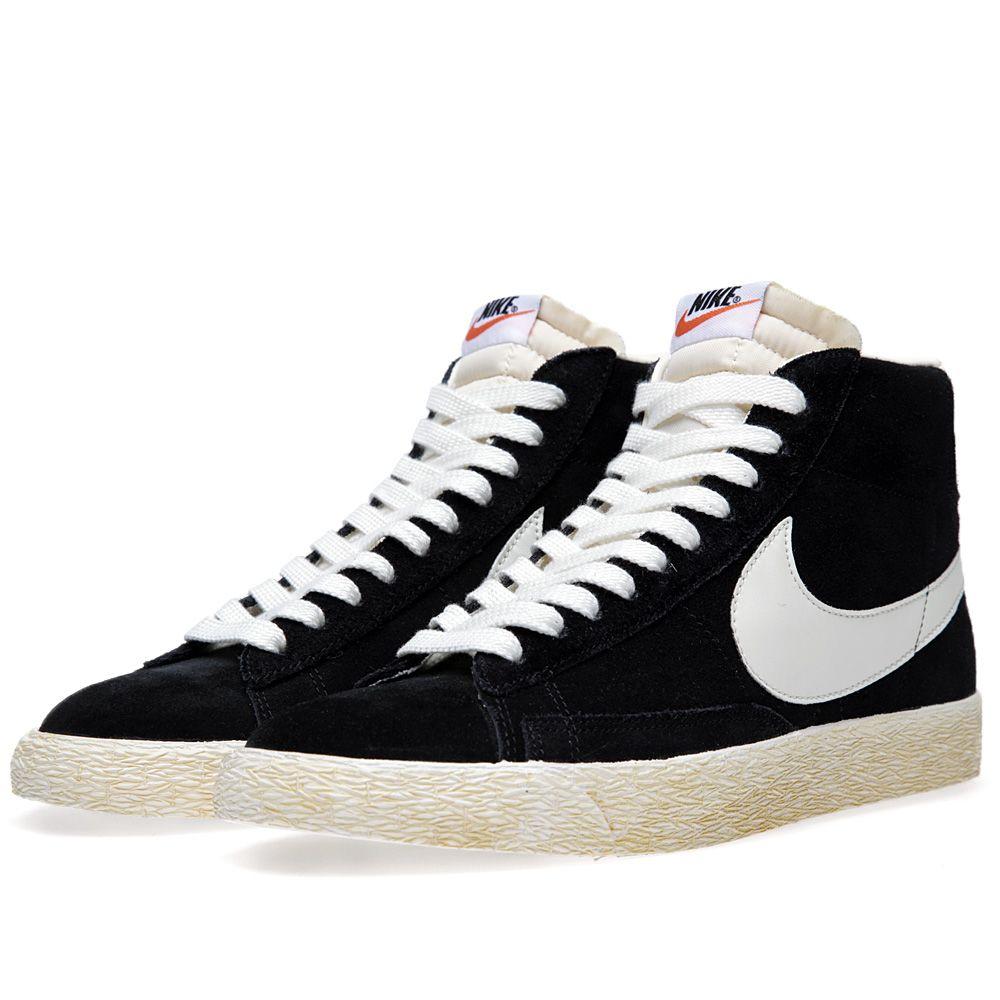 424bfc40a023dd Nike Blazer High VNTG Black   Sail