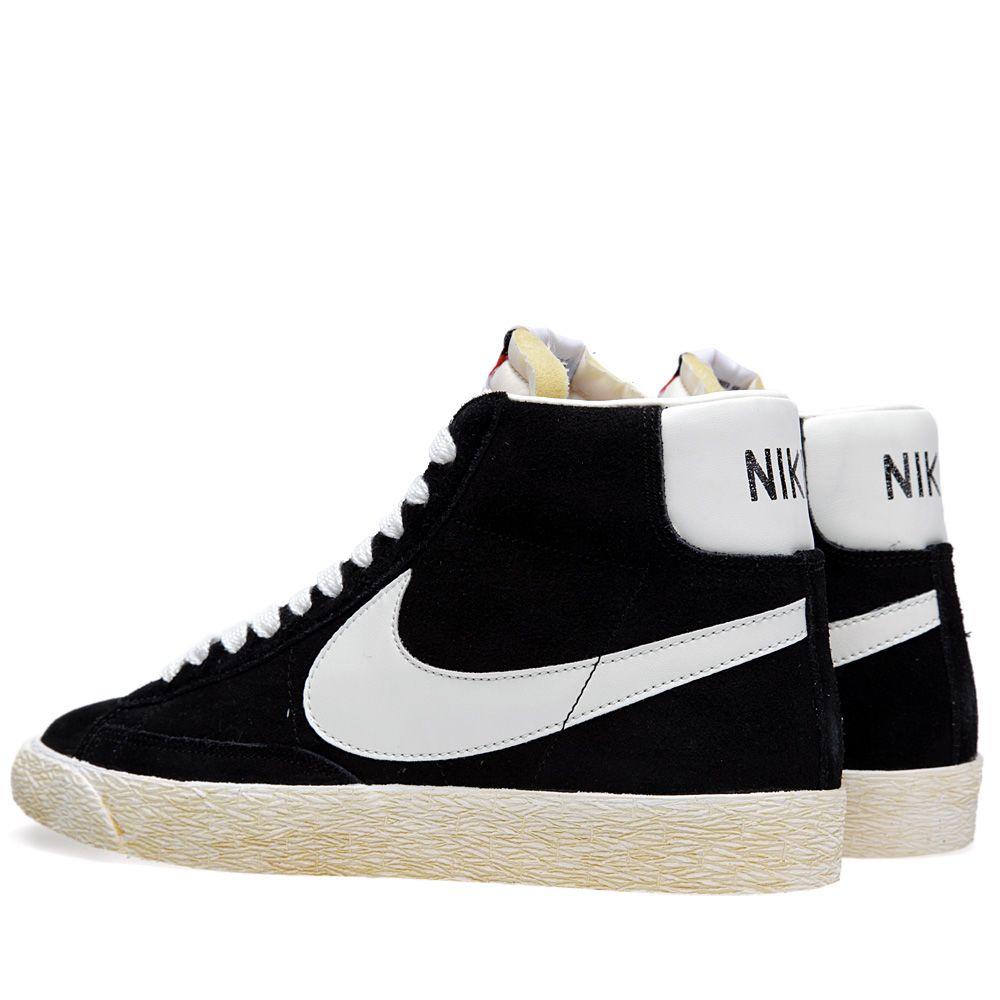 quality design 34832 43b2c Nike Blazer Mid Vintage Black  END.