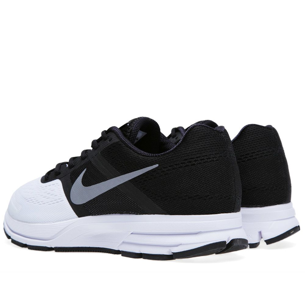 7d3a9b9ebde76 Nike Air Pegasus +30 Black and Reflective Silver