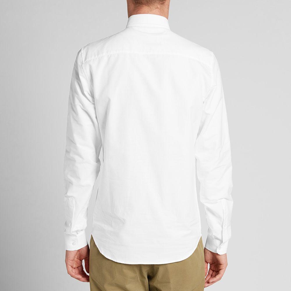 ebc94bfdcd5 AMI Button Down Classic Oxford Shirt White