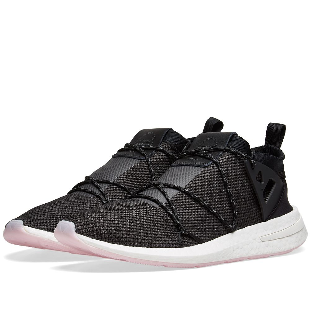 cheaper 35230 6fddb Adidas Arkyn Knit W Core Black, Carbon  Pink  END.