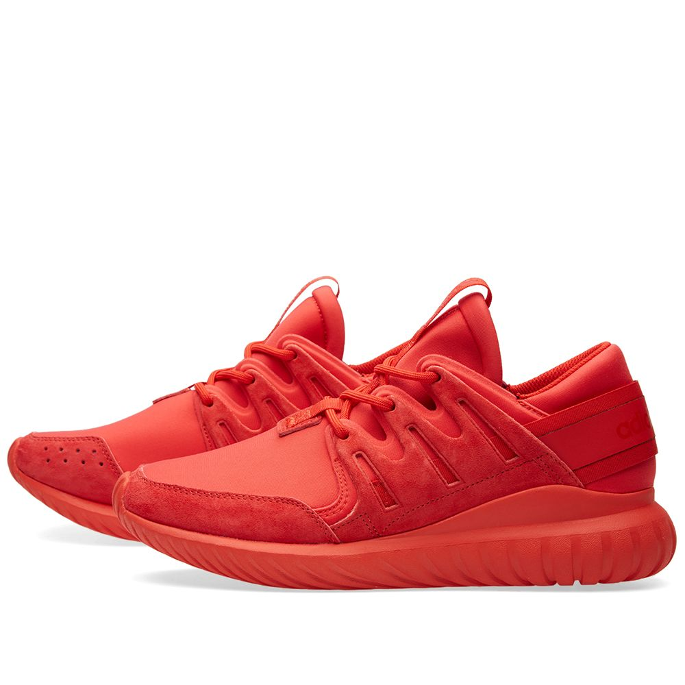dab4de457966 Adidas Tubular Nova Red   Core Black