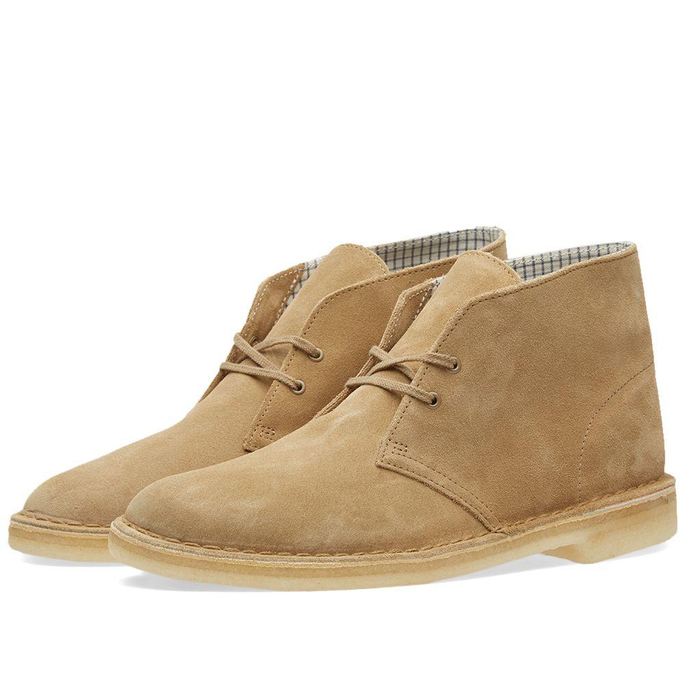 Clarks Originals Desert Boot Oakwood Suede End