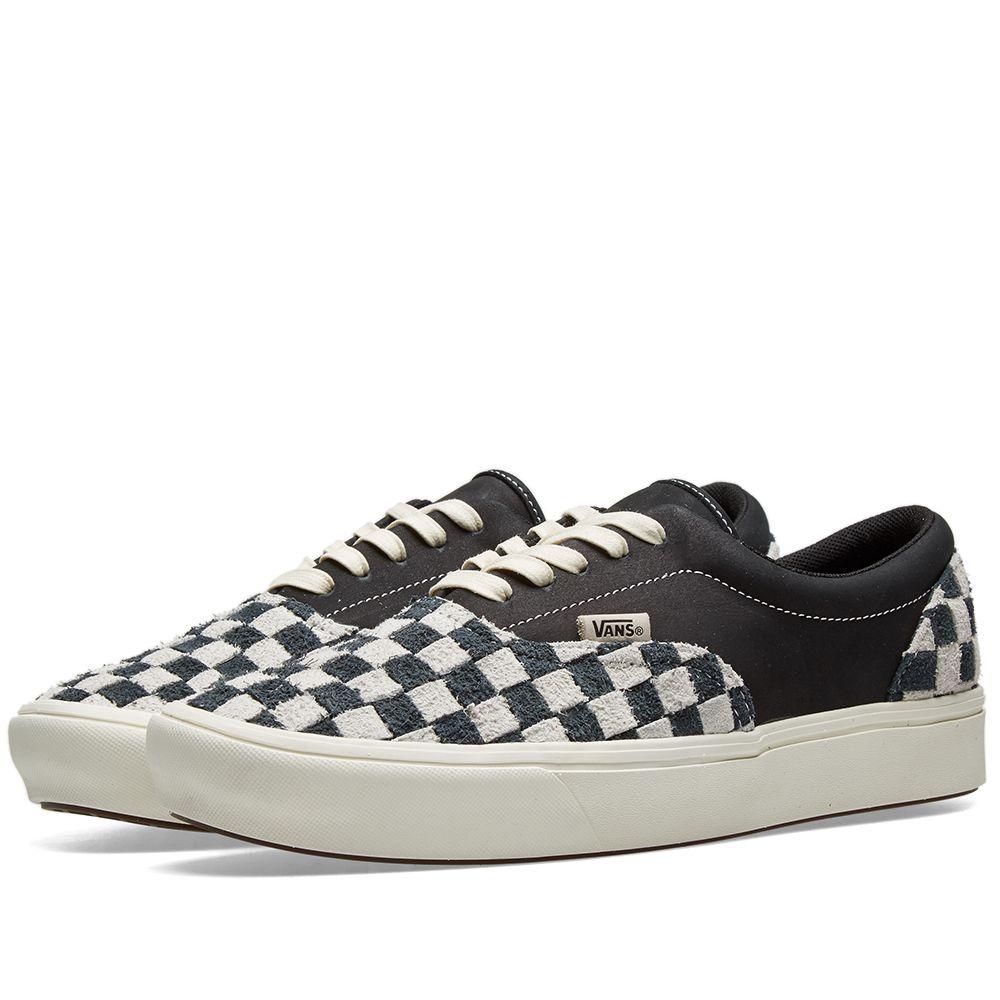 b99f64dbb0 Vans Vault ComfyCush Era LX Black   Checkerboard