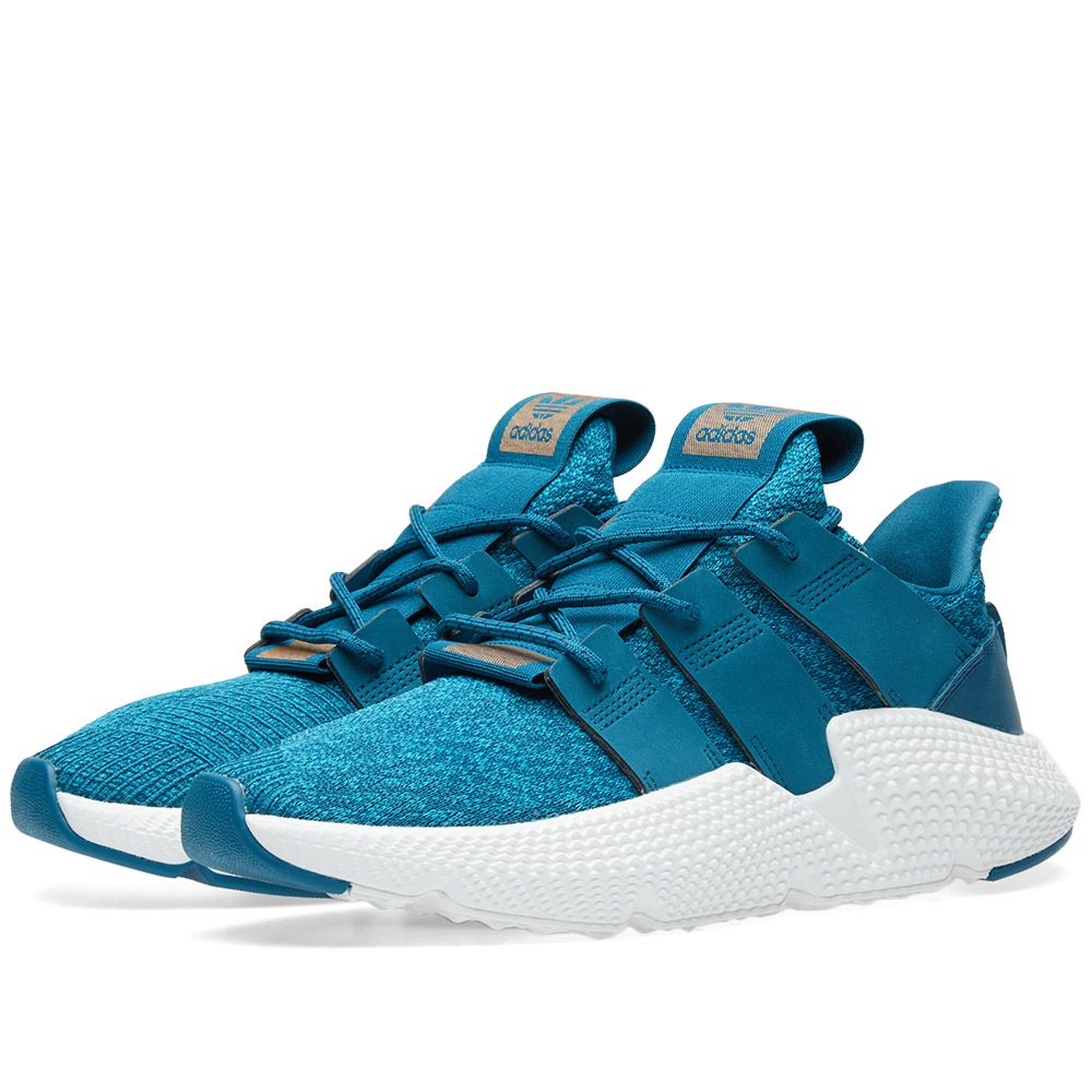 timeless design 1c4f8 35f21 Adidas Prophere W Real Teal  White  END.