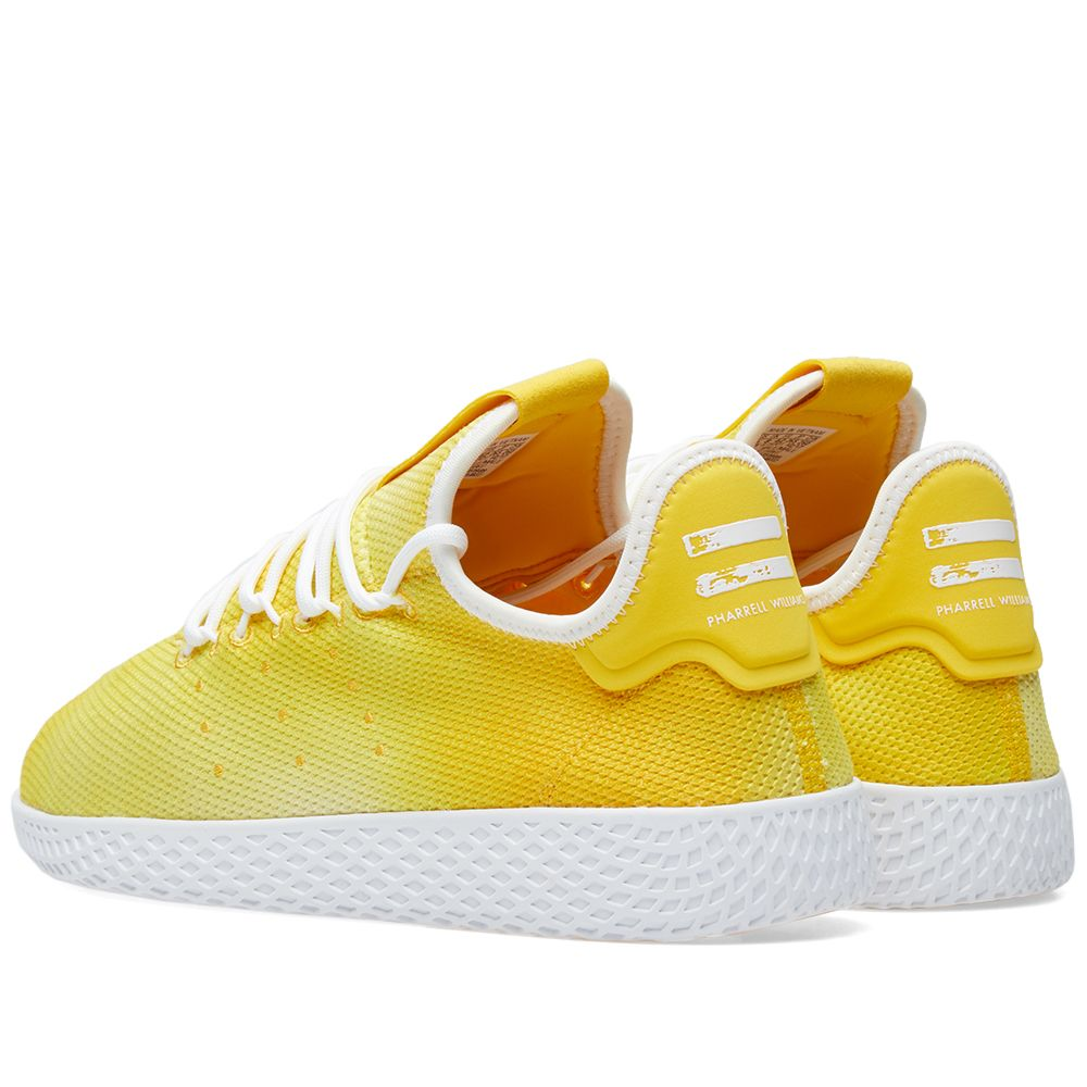 62f5b23b6506f Adidas x Pharrell Williams Hu Holi Tennis Yellow   White