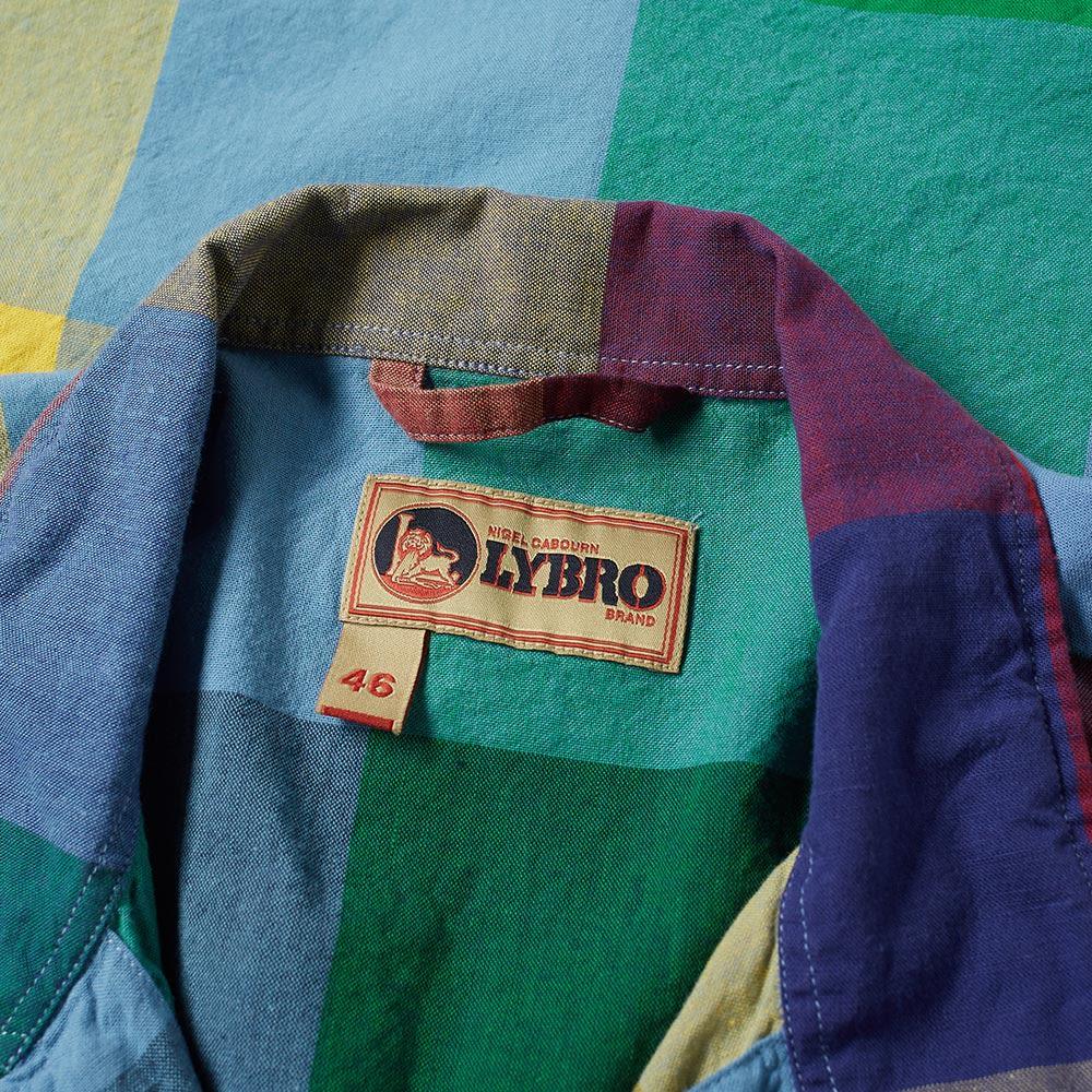 a401e64eb7c3 Nigel Cabourn x Lybro Short Sleeve Frankie s Shirt Multi Check