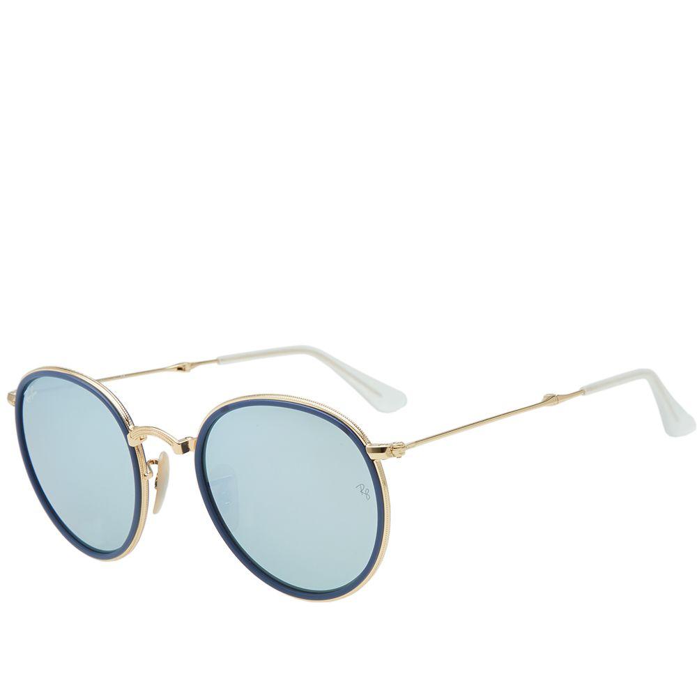 252eb7fb06 homeRay Ban Classic Round Folding Sunglasses. image. image. image. image.  image. image