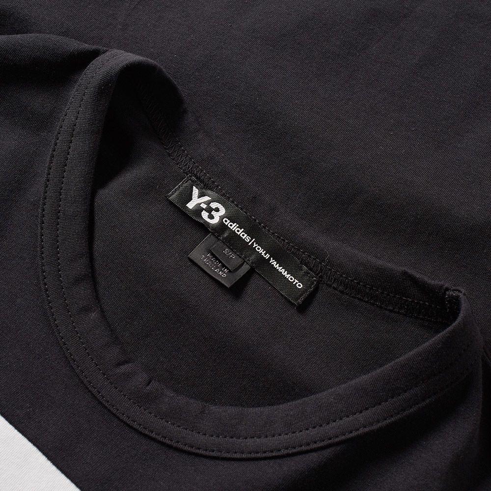 3013ac4a26fa Y-3 3S Logo Tee Black