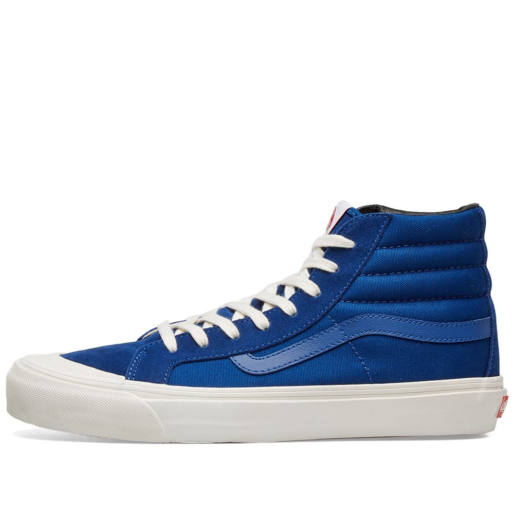 050d6b696dfc3f Vans Vault OG Style 138 LX True Blue   Checkerboard