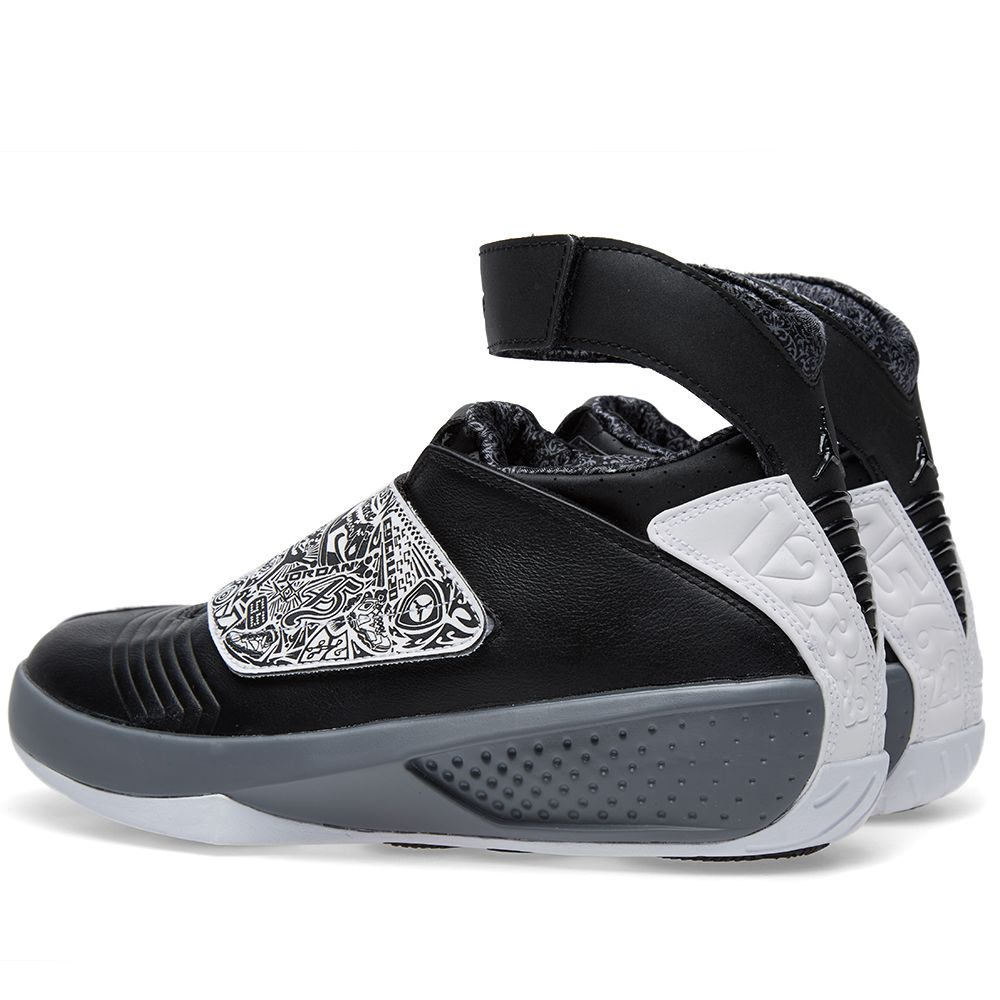 separation shoes 1df12 2bded Nike Air Jordan XX  Playoff  Black, White   Cool Grey   END.