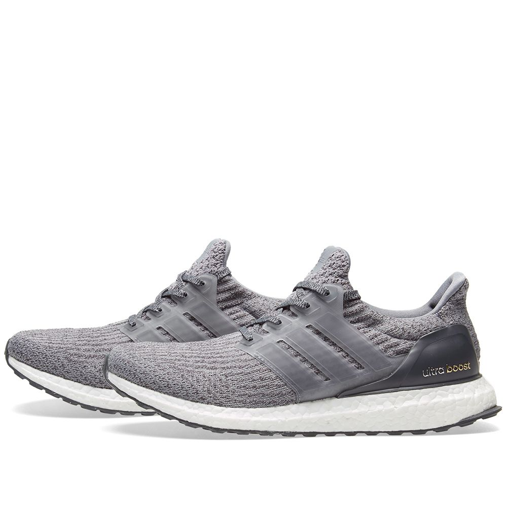 61a7a6dba Adidas Ultra Boost 3.0 Grey   Dark Grey