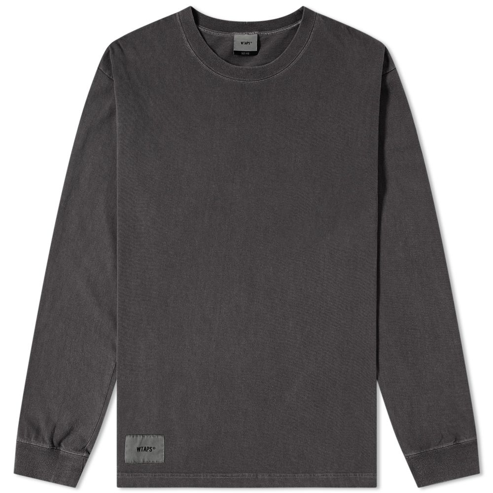 5081cfcf5f62 WTAPS Long Sleeve Design Spec Tee Black