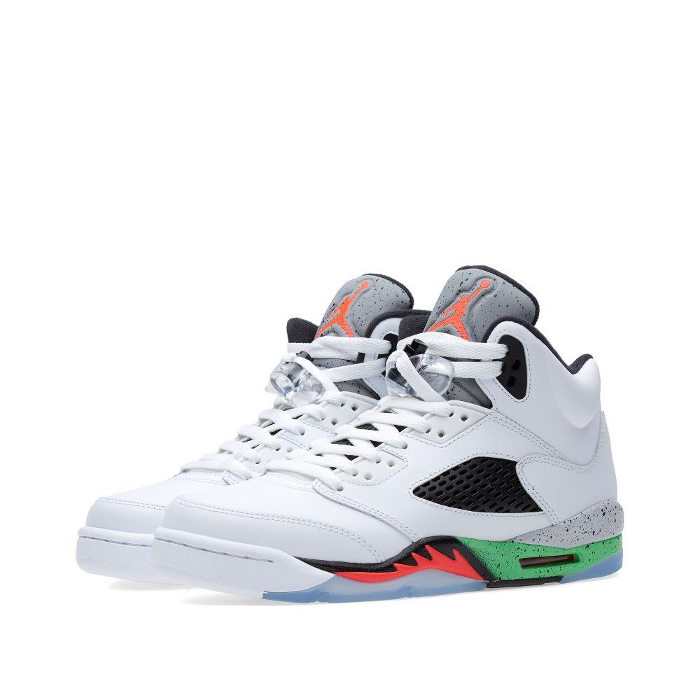 ba94481ad03690 Nike Air Jordan V Retro BG  Space Jam  White