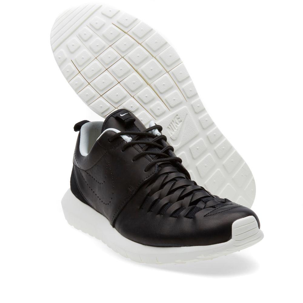 90e6e578c32c Nike Roshe Run NM Woven Black   Sail