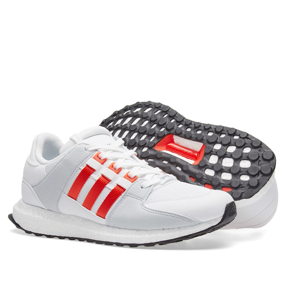 buy popular f5c16 e5d74 Adidas EQT Support Ultra. White, Bold Orange  Grey