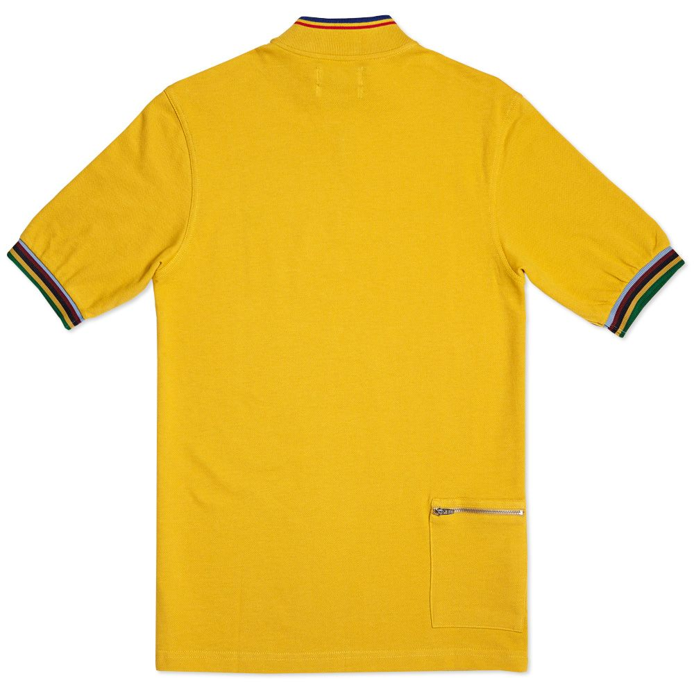 Fred Perry Bradley Wiggins Champion Tipped Cycling Shirt. Mustard. DKK609.  Plus Free Shipping. image 92534196c