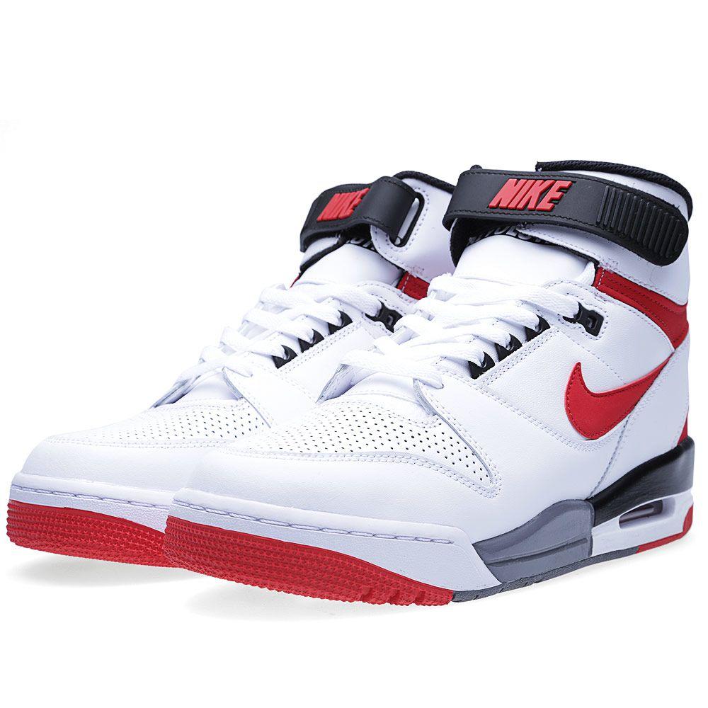 Nike Air Revolution White   University Red  6e8f809e9