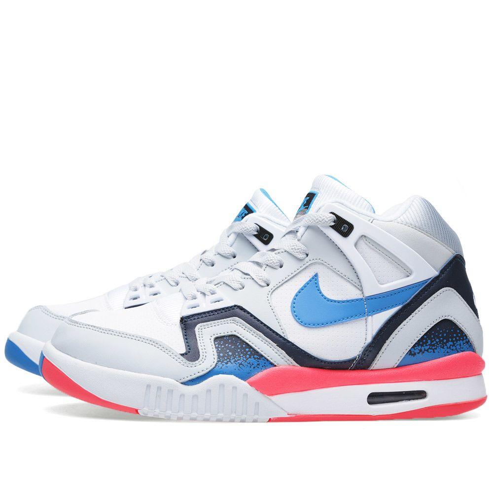 best website d7720 0df49 Nike Air Tech Challenge II White   Photo Blue   END.