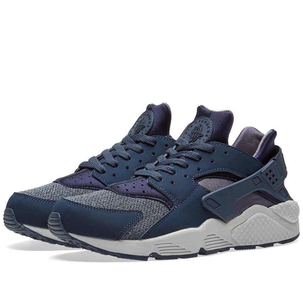 best sneakers 7e58e 2076a Nike Air Huarache Thunder Blue  Obsidian  END.