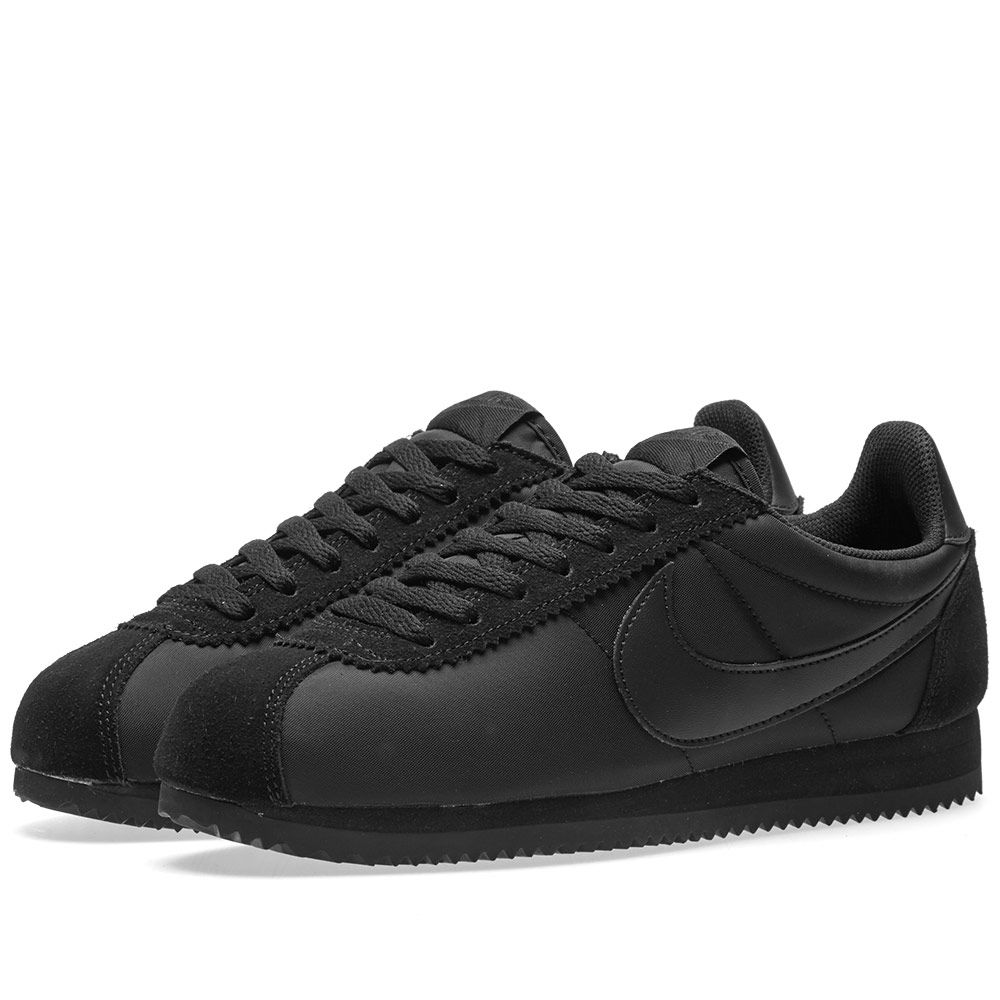 64bcc61aceb0 Nike Classic Cortez Nylon Black   Anthracite
