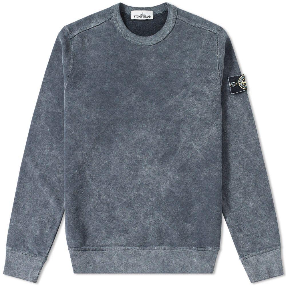 16a324377e71 homeStone Island Garment Dyed Frost Crew Sweat. image. image. image. image.  image. image. image