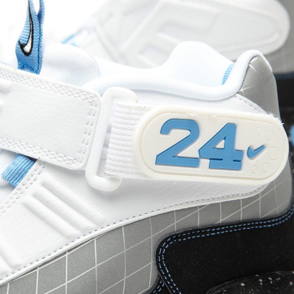 Nike Air Griffey Max 1 Premium MLB All Star Pack QS Metallic Silver ... a02511662