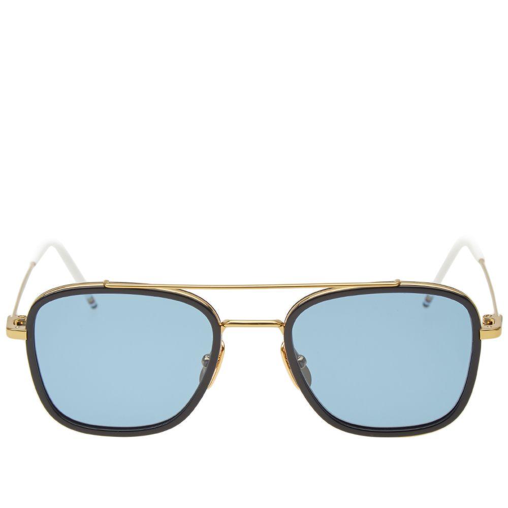 78a64295ec5 Thom Browne TB-800 Sunglasses. 18K Gold ...
