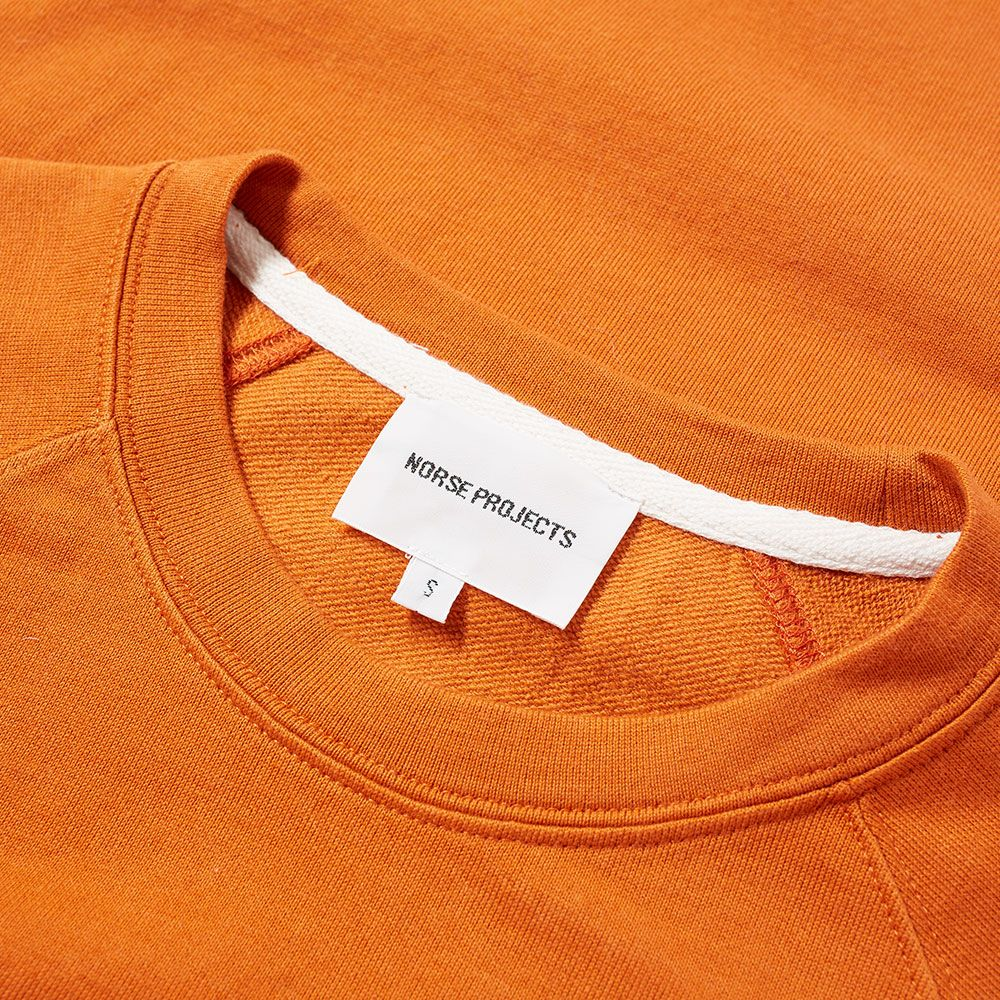 c72c498827b Norse Projects Vorm Mercerised Crew Sweat Ochre