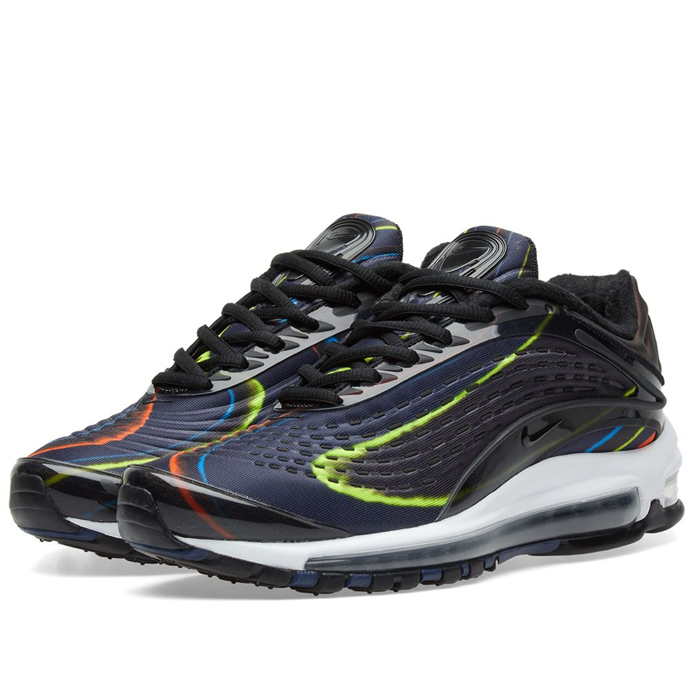 buy popular 2c89d cb411 Nike Air Max Deluxe W Black, Navy  Silver  END.