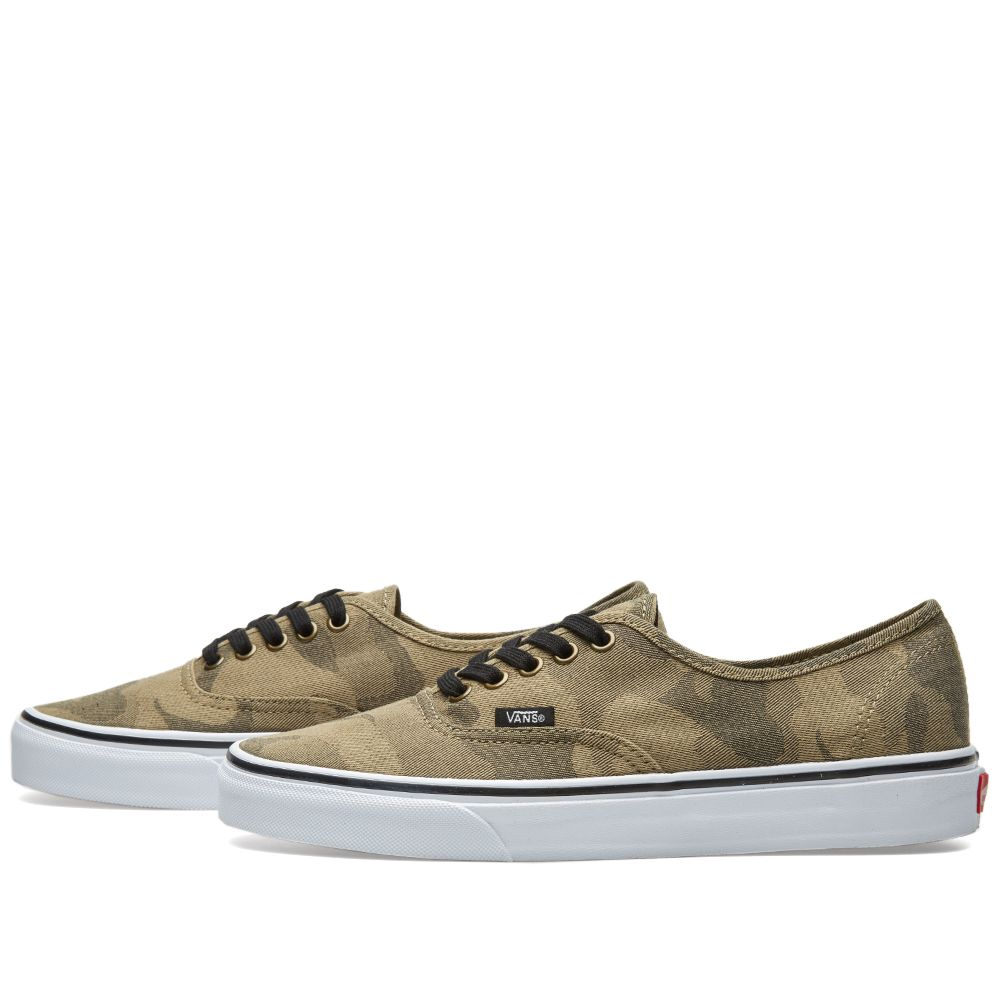 a55013032c Vans Authentic Camo Jacquard Raven