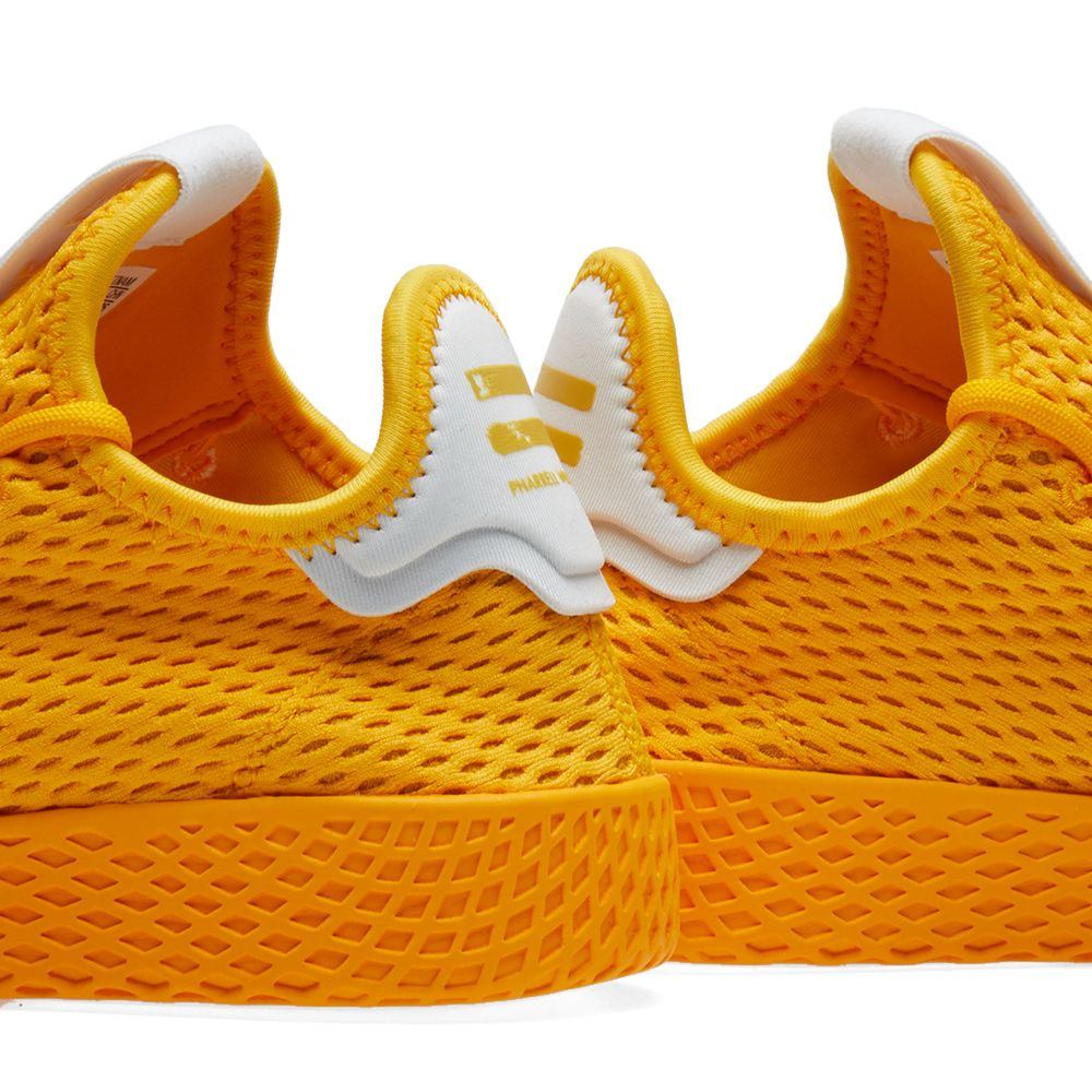 half off 10cc4 52181 Adidas x Pharrell Williams Tennis HU. Collegiate Gold  White