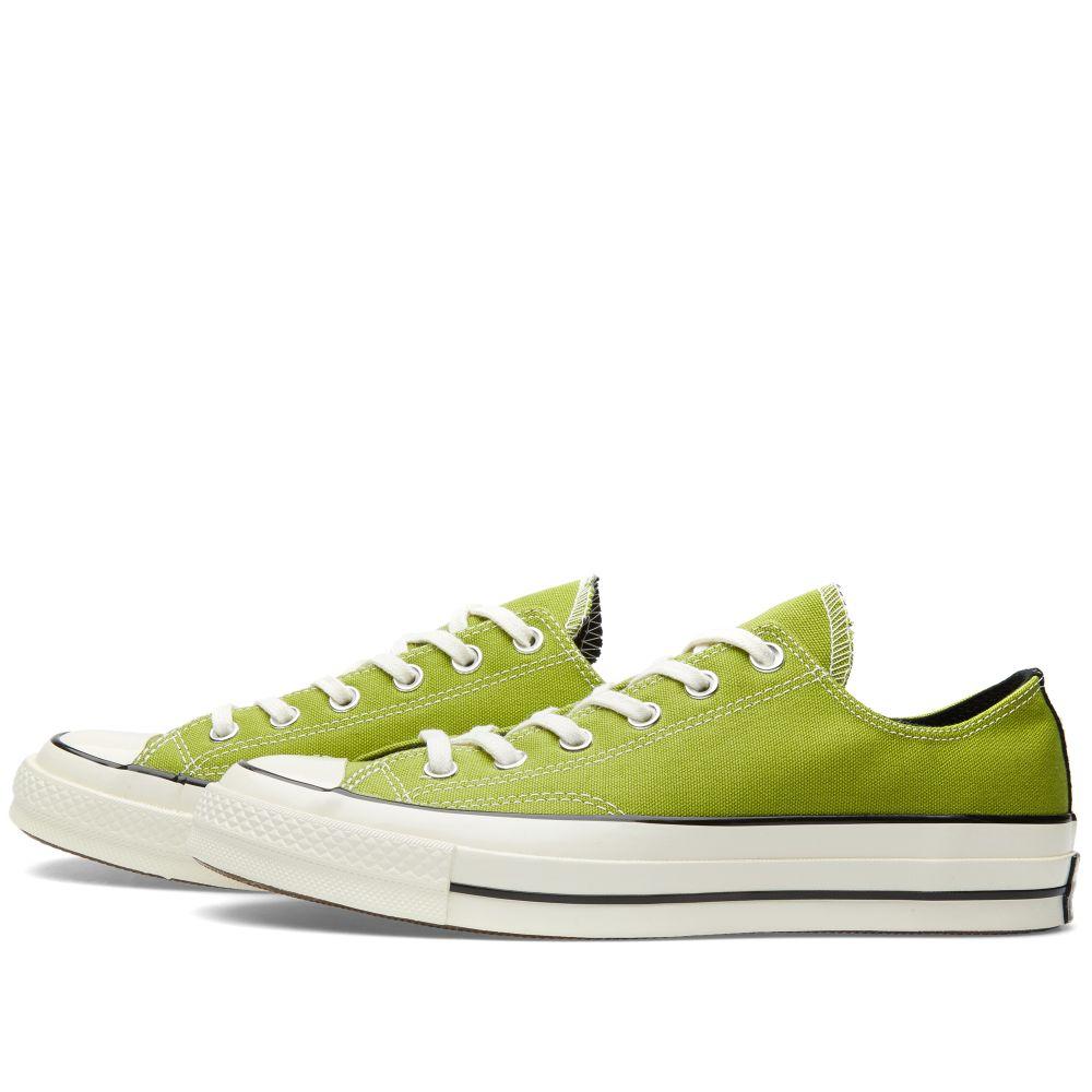 d4df4eba2eec Converse Chuck Taylor 1970s Ox Spinach Green