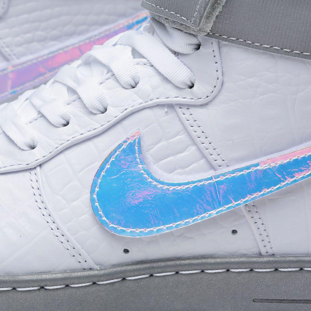 33b71b99601b Nike Air Force 1 Downtown Hi LW QS  Hologram  White