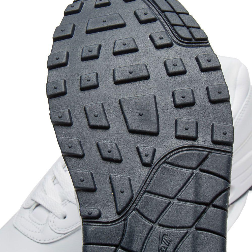 first rate 0b62e 787fa Nike Air Max 1 Premium SC White   Dark Obsidian   END.