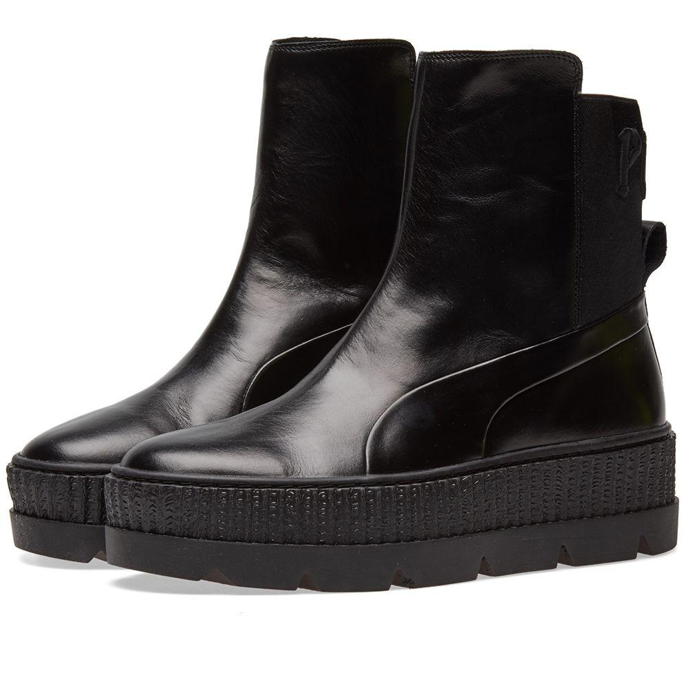 Puma x Fenty by Rihanna Chelsea Sneaker Boot Puma Black  2bab6163d