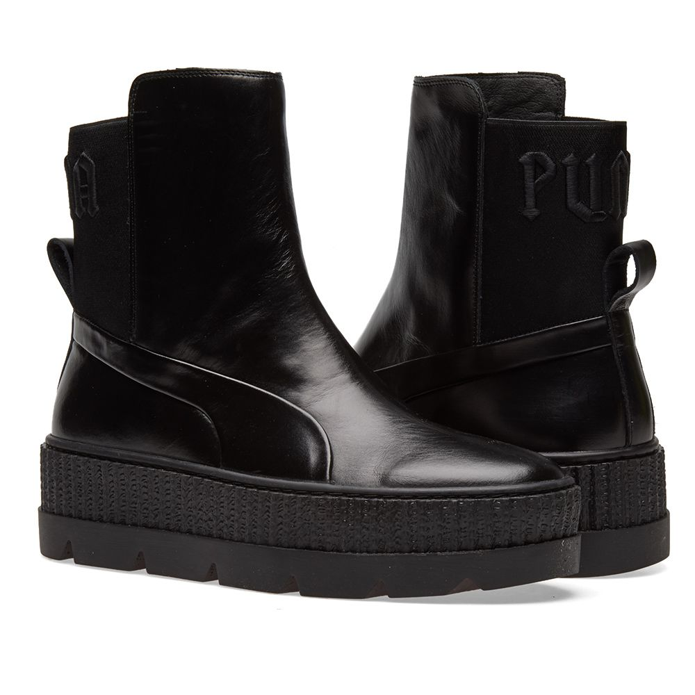 572e20c44d32 Puma x Fenty by Rihanna Chelsea Sneaker Boot Puma Black